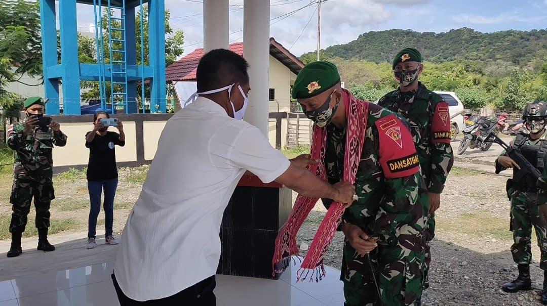Satgas Yonif 742 Silaturahmi Ke Para Tokoh Desa Silawan