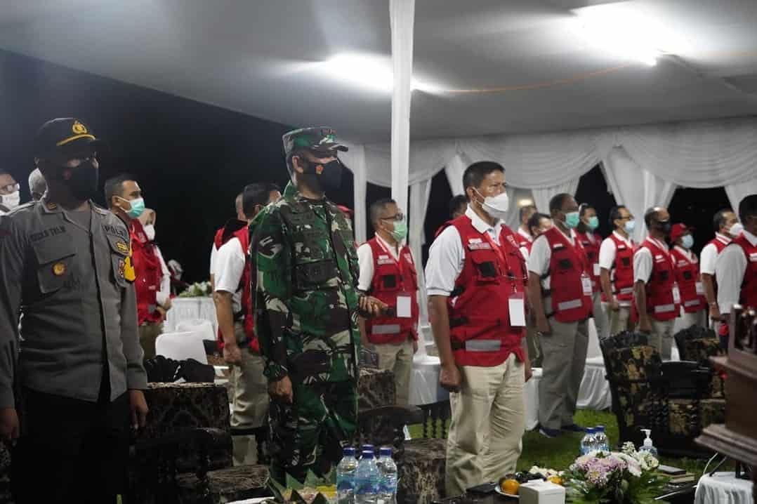 Danrem 061/SK Apresiasi Rapimnas Siaga Bencana Tahun 2021