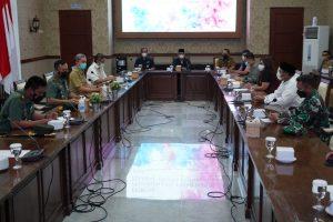Komitmen Danrem 061/SK Dukung Pemerintah Daerah