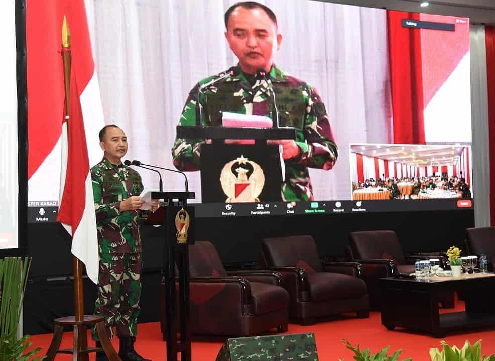 Sterad Gelar Komsos RTRW Pertahanan Bagi Kesejahteraan Rakyat