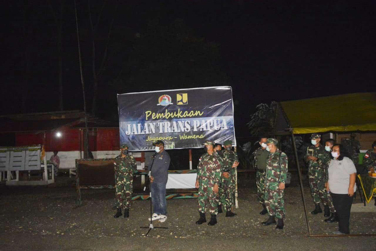BBPJN Bersama TNI Kembali Buka Jalan Trans Papua