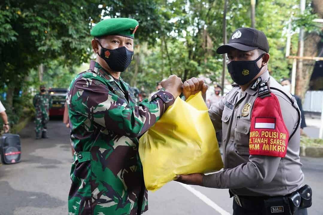 Danrem 061/SK : Walau Sudah Divaksinasi, Tetap Patuhi Prokes