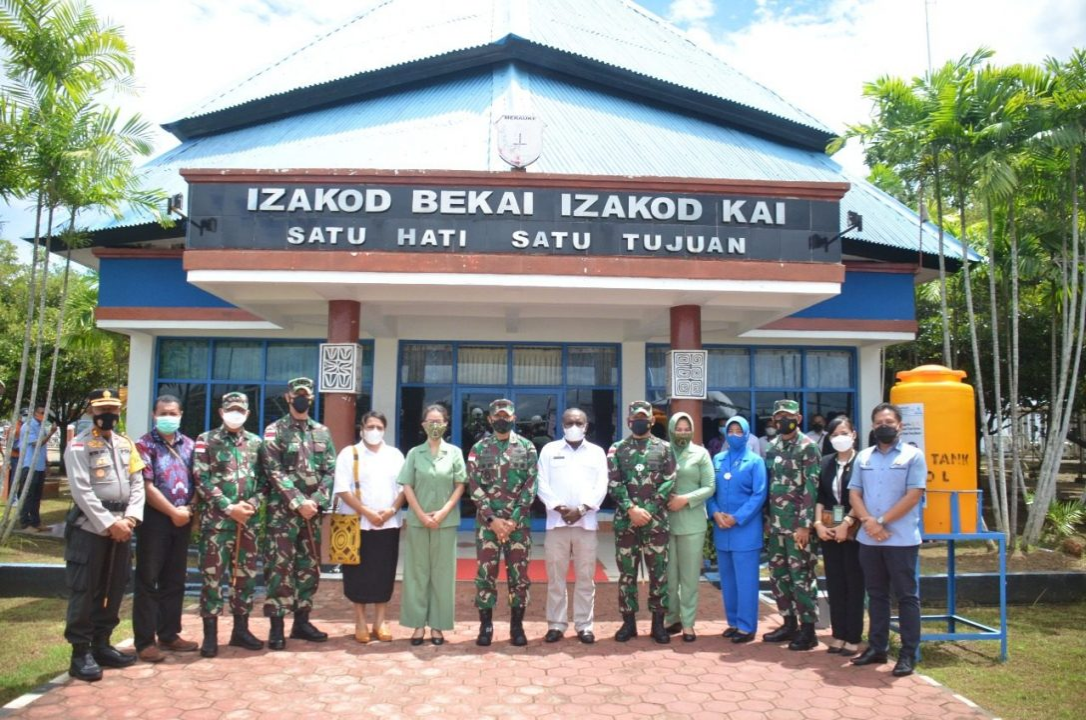 Kunjungan Kerja ke Merauke, Pangdam XVII : Prajurit Harus Miliki Kebanggaan Pada Satuan
