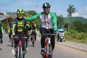 Bangkitkan Pariwisata NTB, Danrem 162/WB Apresiasi Citilink Gelar Fun Bike Mandalika