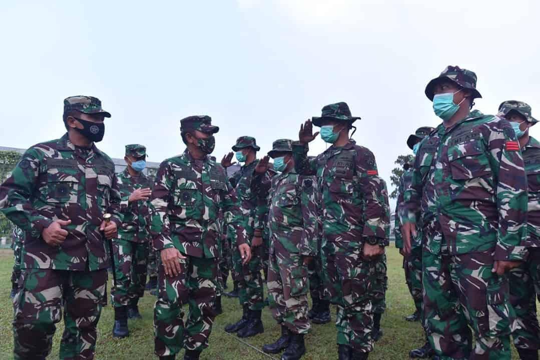 Purna Tugas Satgas Penanggulangan Bencana Alam TNI AD dalam Misi Kemanusiaan di Sulawesi Barat