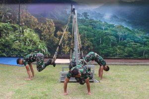 Disjasad Luncurkan Metode Pembinaan Fisik Dengan Alat TRX Exercise