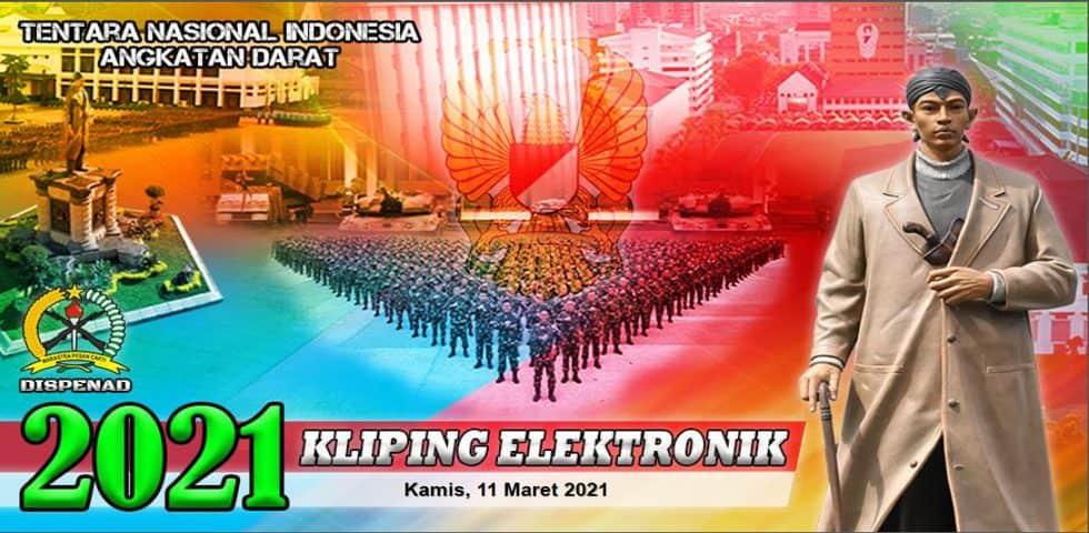 Kliping Elektronik Kamis, 11 Maret 2021