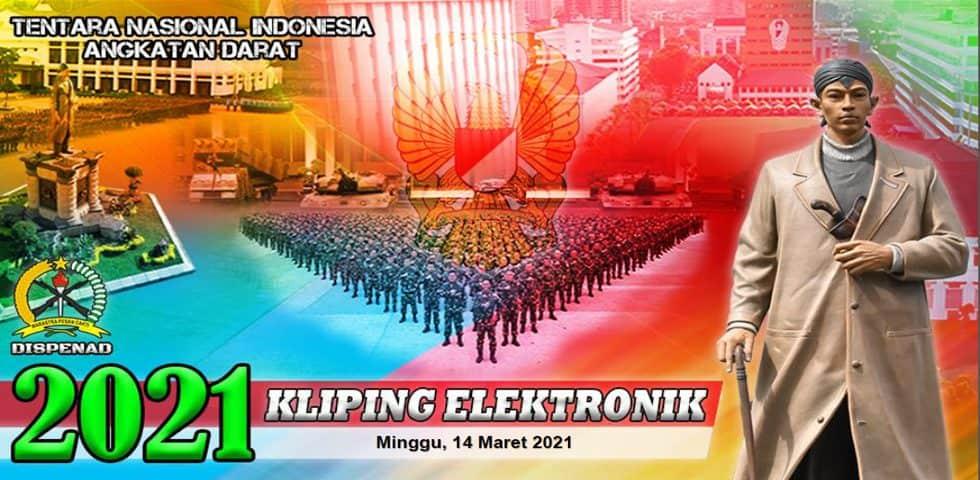 Kliping Elektronik Minggu, 14 Maret 2021
