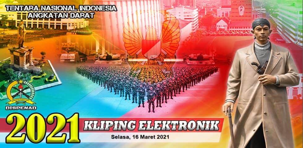 Kliping Elektronik Selasa, 16 Maret 2021