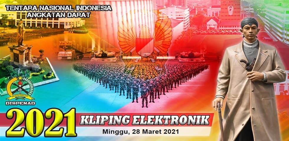 Kliping Elektronik,Sabtu 27 Maret 2021