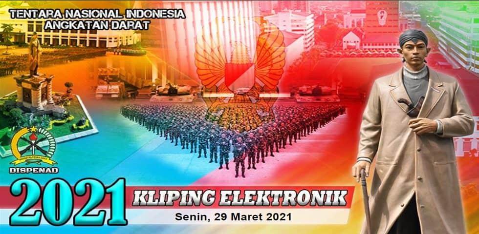 Kliping Elektronik Senin, 29 Maret 2021