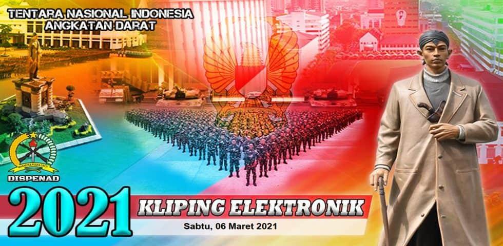 Kliping Elektronik Sabtu, 6 Maret 2021