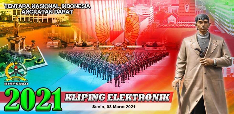 Kliping Elektronik Senin, 8 Maret 2021