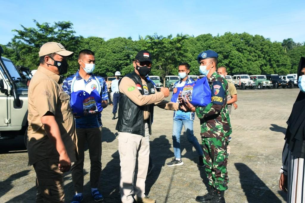 Kodiklatad dan TNI AU Gelar Baksos dan Fun Adventure di Bogor
