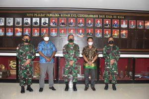 Pangdam Cenderawasih Terima Kunjungan DETIKDA Papua