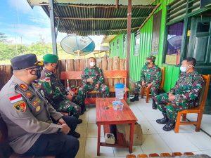 Danrem 172/PWY Tinjau Pos TNI Di Pegubin