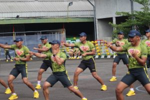 Dinas Jasmani Angkatan Darat Miliki Senam Beladiri Baru