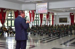 Gubernur Sumut Beri Pesan Kepada Taruna Akmil Tingkat IV dan Resmikan Selasar Masjid Al Jihad