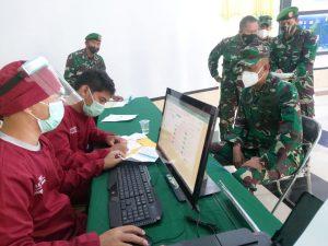 Dislitbang TNI AD Laksanakan Vaksinasi Covid-19 Tahap 2