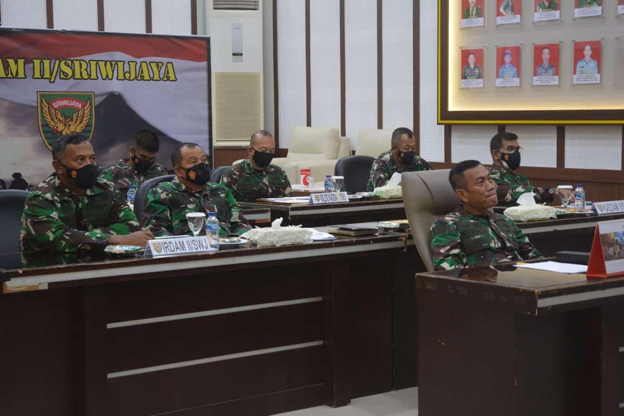 Kodam II/Sriwijaya Akan Berangkatkan Prajurit Yonif 144/Jy Jaga Perbatasan RI – Malaysia di Kalbar