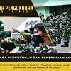 Upacara Pengukuhan dan Penerimaan Anggota Kowad Prasis Dikmaba TNI AD Wanita TA. 2020
