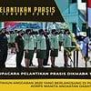Upacara Pelantikan Prasis Dikmaba TNI AD Wanita TA. 2020