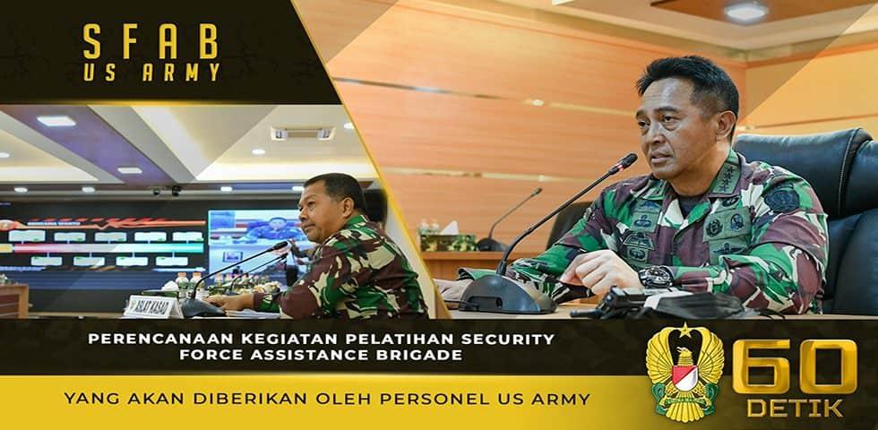 Perencanaan Pelatihan Security Force Assistance Brigade yang Akan Diberikan oleh Personel US Army