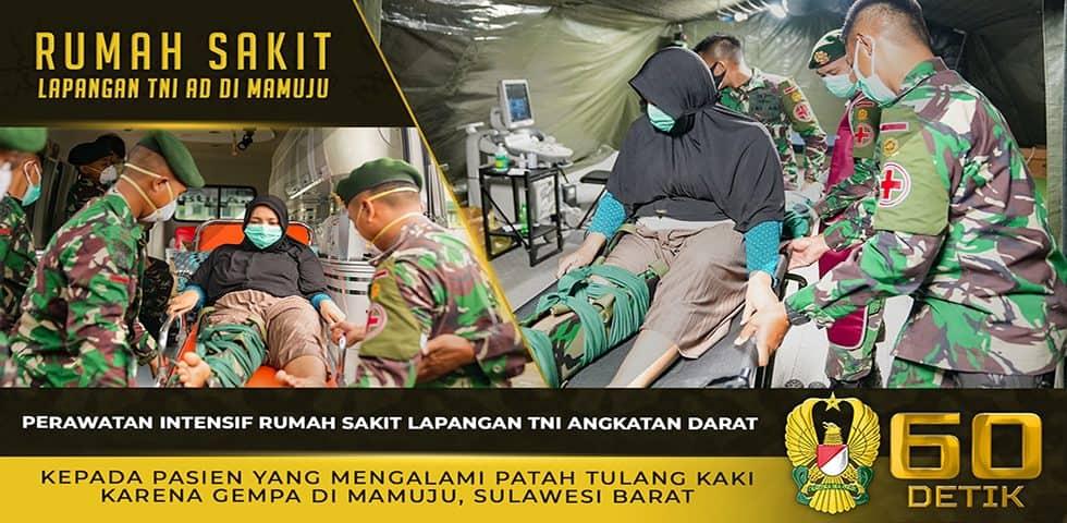 Perawatan Intensif RS Lapangan TNI AD Kepada Pasien yang Mengalami Patah Tulang Kaki