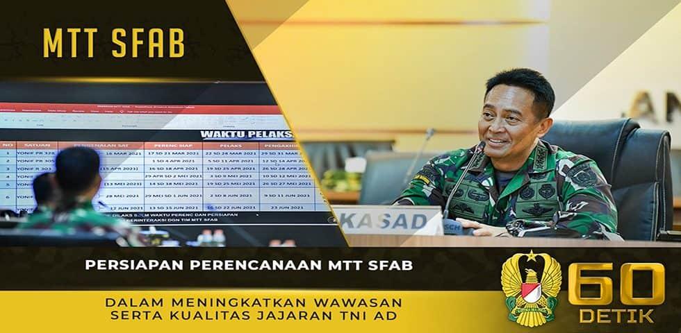 Persiapan Perencanaan MTT SFAB dalam Meningkatkan Wawasan Serta Kualitas Jajaran TNI AD