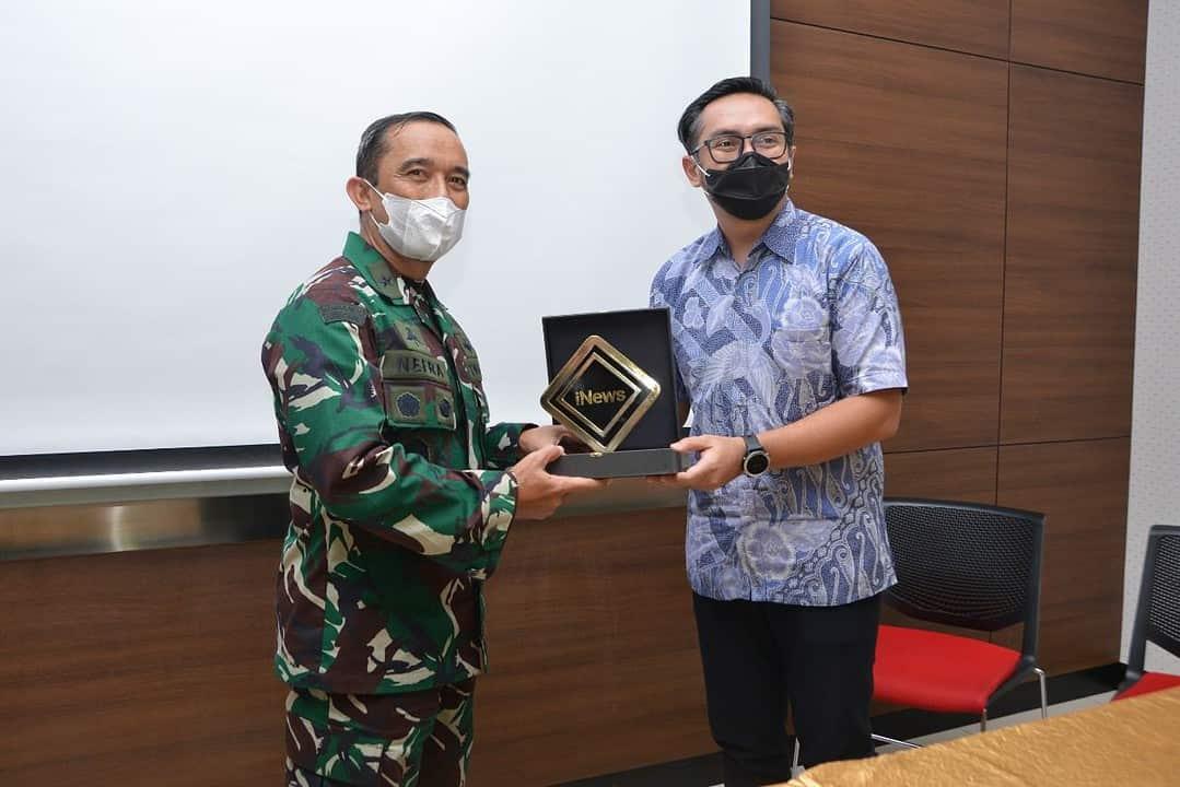 Jajaran Penerangan Angkatan Darat Kunjungi MNC Group