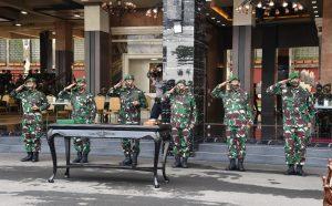 Kasad Pimpin Penyerahan Jabatan Wakasad dan Sertijab Dua Pangdam Serta Kadislitbangad