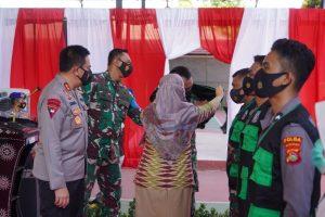 Batalyon Vaksinator Covid-19 TNI-Polri Dibentuk, Ini Harapan Danrem 162/WB
