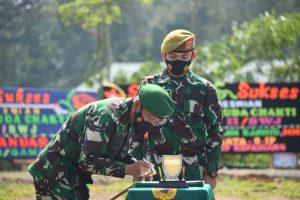 Pangdam II/Sriwijaya Pimpin Peresmian Satuan Baru dan Alih Kodal