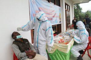 Jelang Konas IX GKII, TNI Bantu Pelaksanaan Swab Peserta dan Panitia