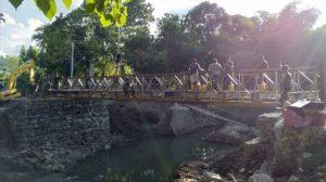 Jembatan Telah Terpasang, Warga Desa Bolo-Rade Kembali Tersenyum