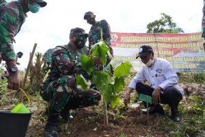 Belajar dari Banjir Bandang, Danrem 162/WB Ajak Masyarakat Jaga Ekositem Lingkungan