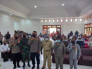 Dandim Jayawijaya Sambut Kunker Kabaintelkan Polri di Yalimo Terkait PSU