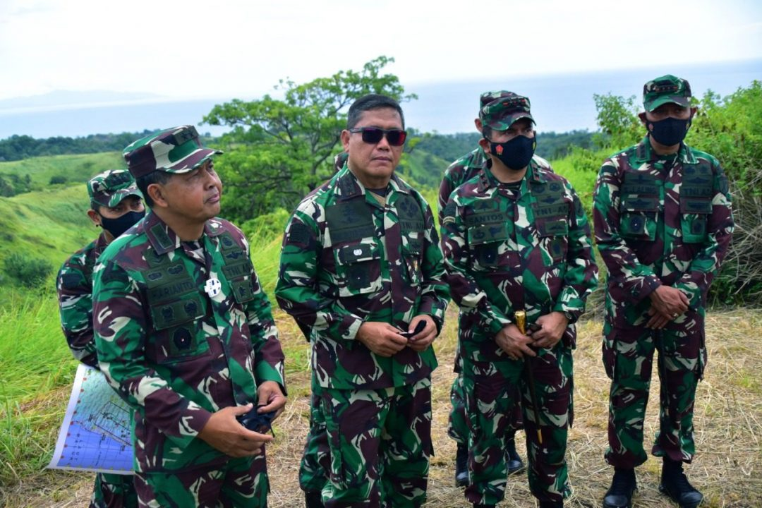 Komandan Kodiklatad tinjau Daerah Latihan Makalisung, Sulawesi Utara