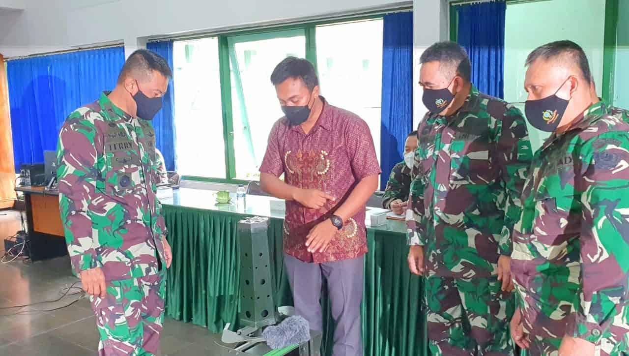 Terus Berinovasi, Dislitbangad Rancang Bangun Prototipe Sensor Tembak Counter Sniper