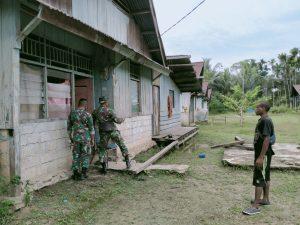 Satgas Yonif 512/QY Hidupkan Kembali Listrik dI Kampung Yabanda