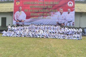 Dojo Karate Bengpuspal Puspalad Latihan Bersama Inkai Jawa Barat