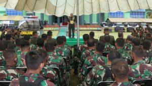 Pangdam Kasuari : Prajurit Harus Berani Mengorbankan Darahnya Untuk NKRI