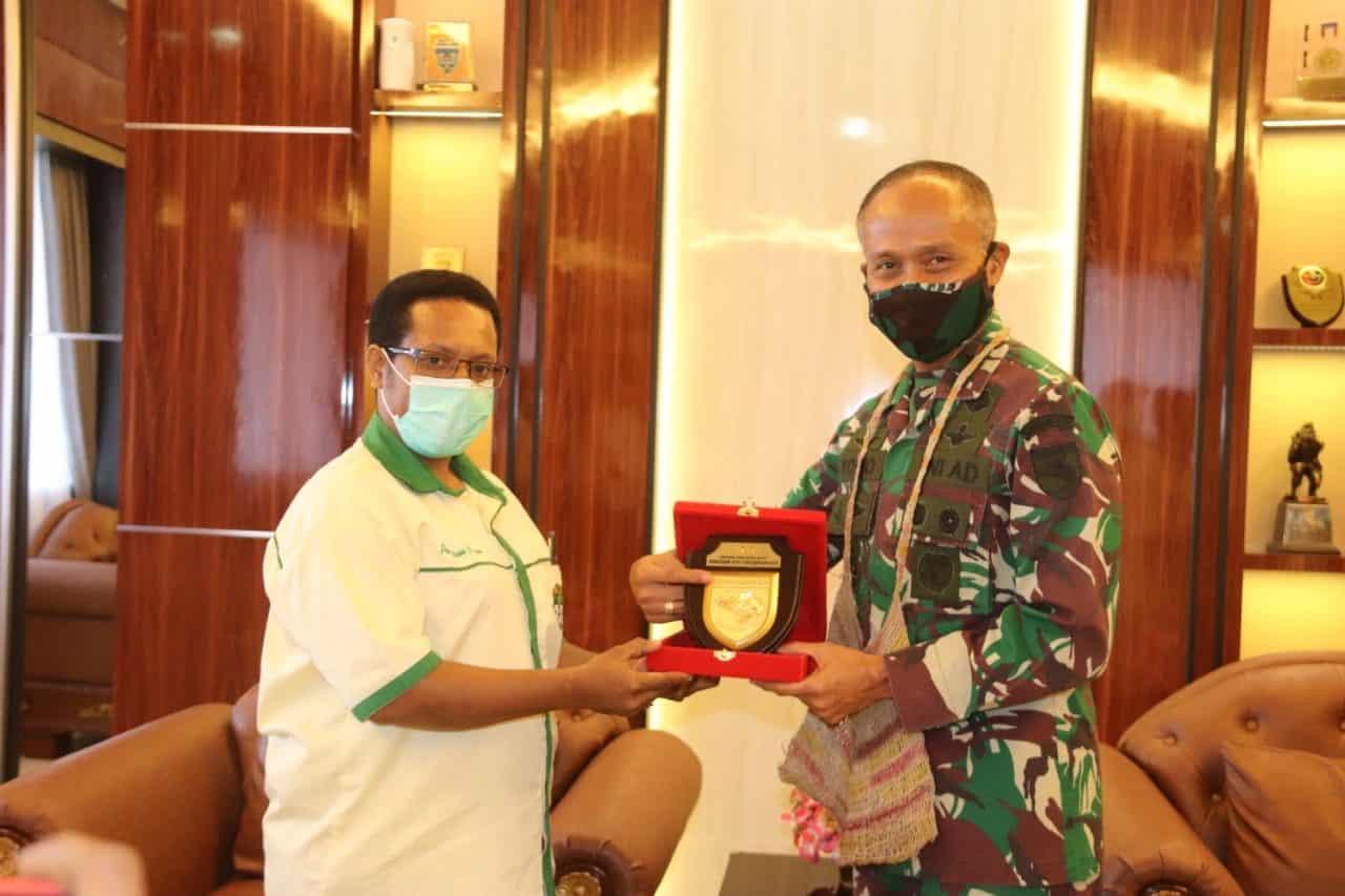 Pangdam XVII/Cenderawasih Terima Kunjungan Pemuda Katholik Komisariat Daerah Provinsi Papua