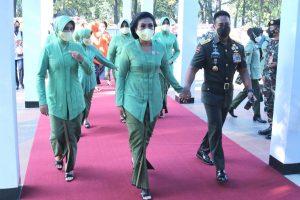 Ketua Umum Persit Hadiri HUT ke-57 Dharma Pertiwi