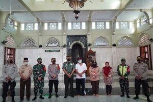 Danrem 061/SK Imbau Pengurus DKM, Tetap Terapkan Prokes Ibadah Saat Ramadhan