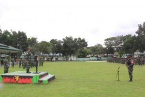 Kasdam XVII/Cenderawasih Buka Latihan Pra Tugas Yonif RK 751/VJS