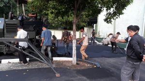 Ciptakan Rasa Nyaman, Dislitbang TNI AD Berbenah Pangkalan