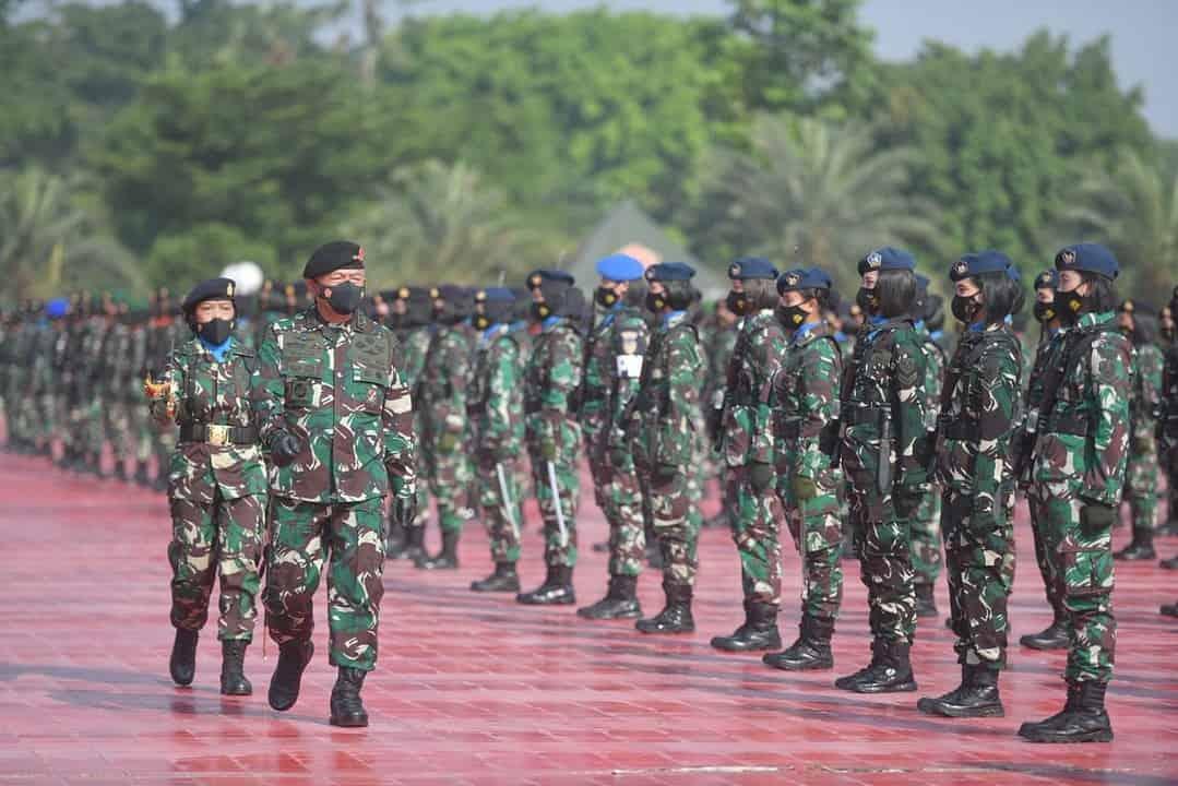 Wakasad Hadiri Apel Bersama Wanita TNI
