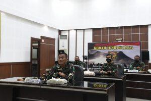 Kodam II/Swj Dukung Kebijakan Pemerintah Larangan Mudik Lebaran