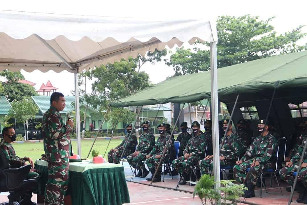 Pangkostrad Datangi Prajuritnya di Perbatasan RI-Malayasia